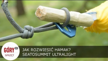 Embedded thumbnail for Jak zawiesić hamak + Ultralekki hamak Sea To Summit UNBOXING I RECENZJA